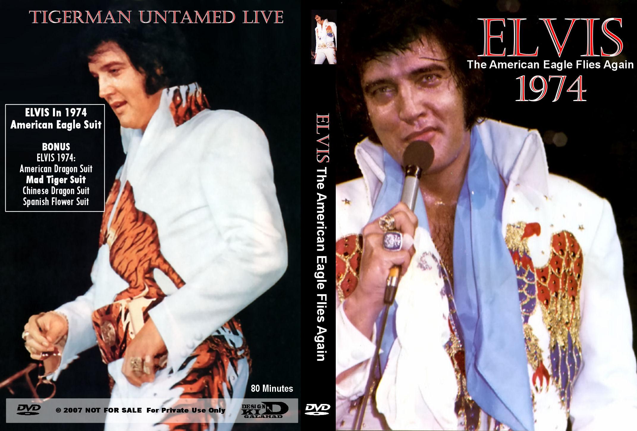 Elvis DVD Covers