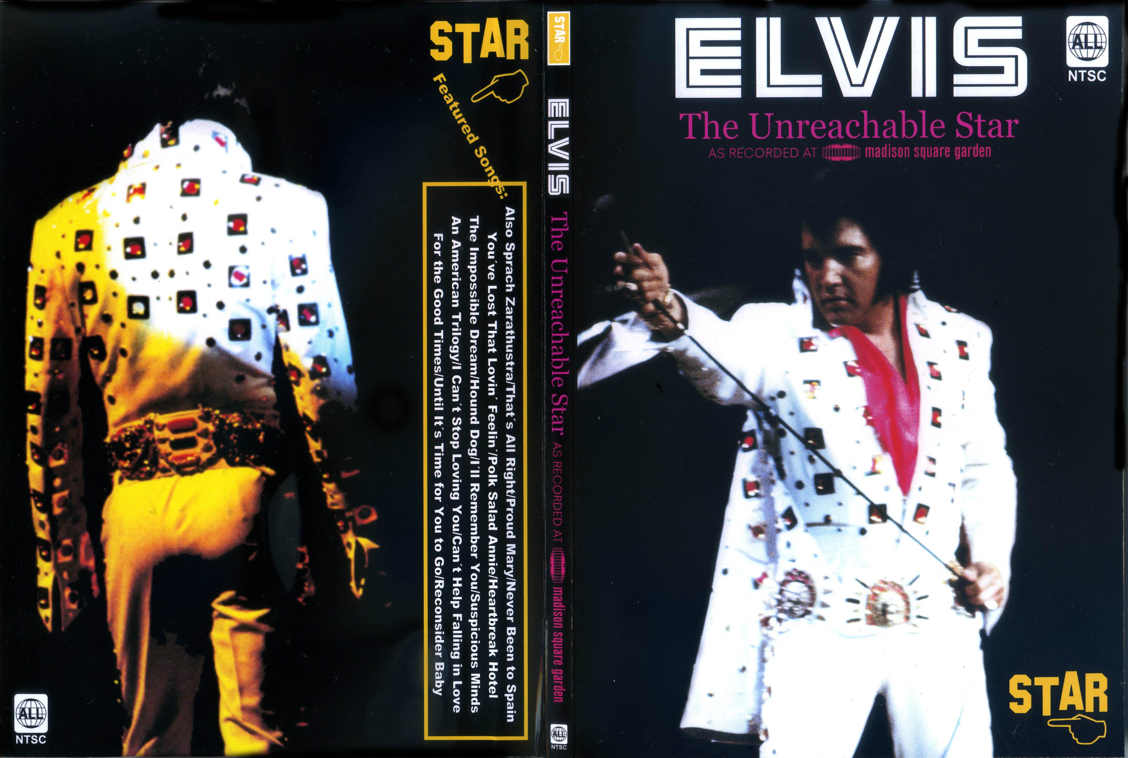Resultado de imagem para DVD Elvis THE Unreachable Star